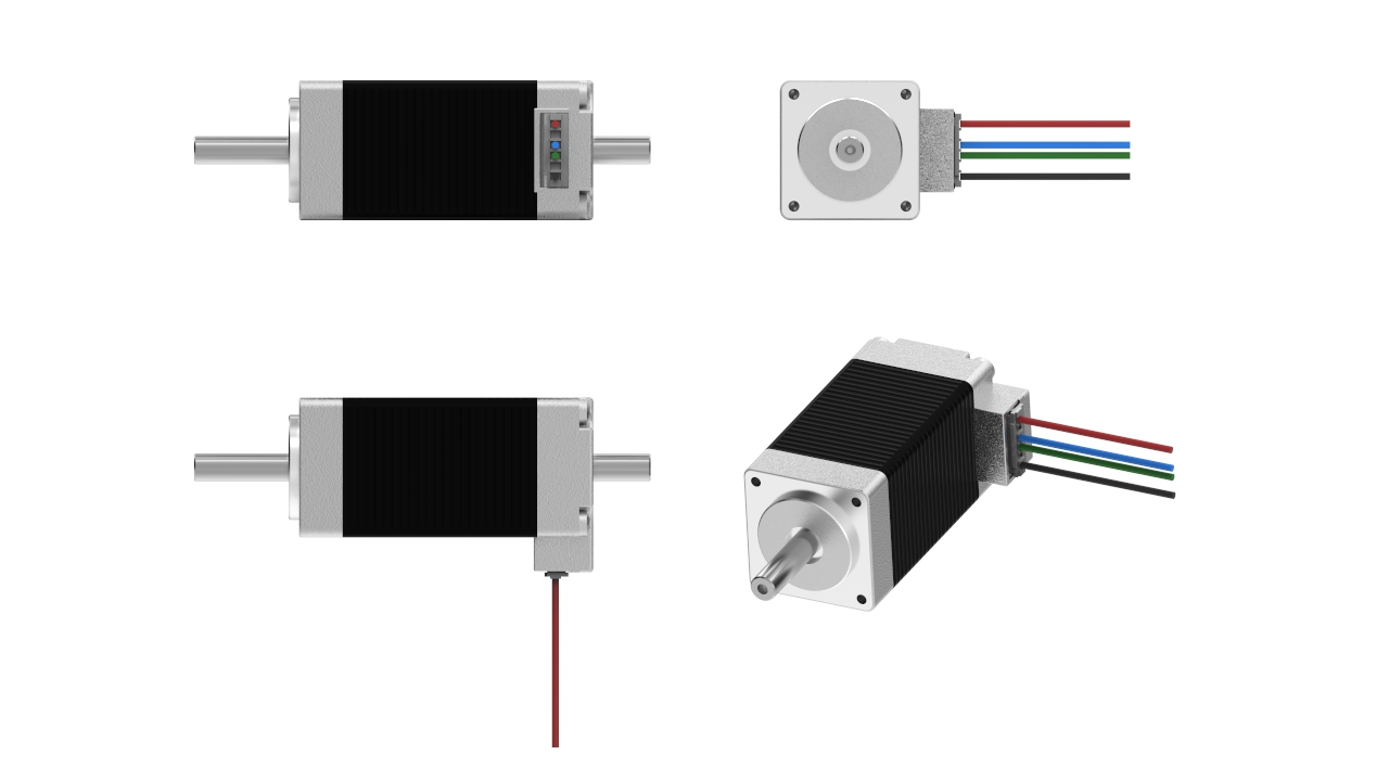 stepper motor visual