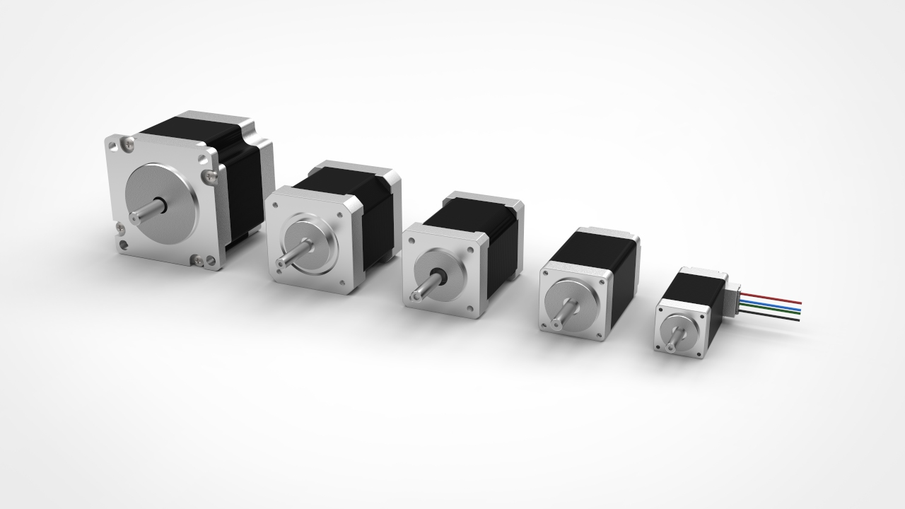 stepper motors nema