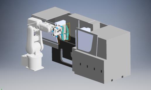 Autodesk Inventor model we got to animate